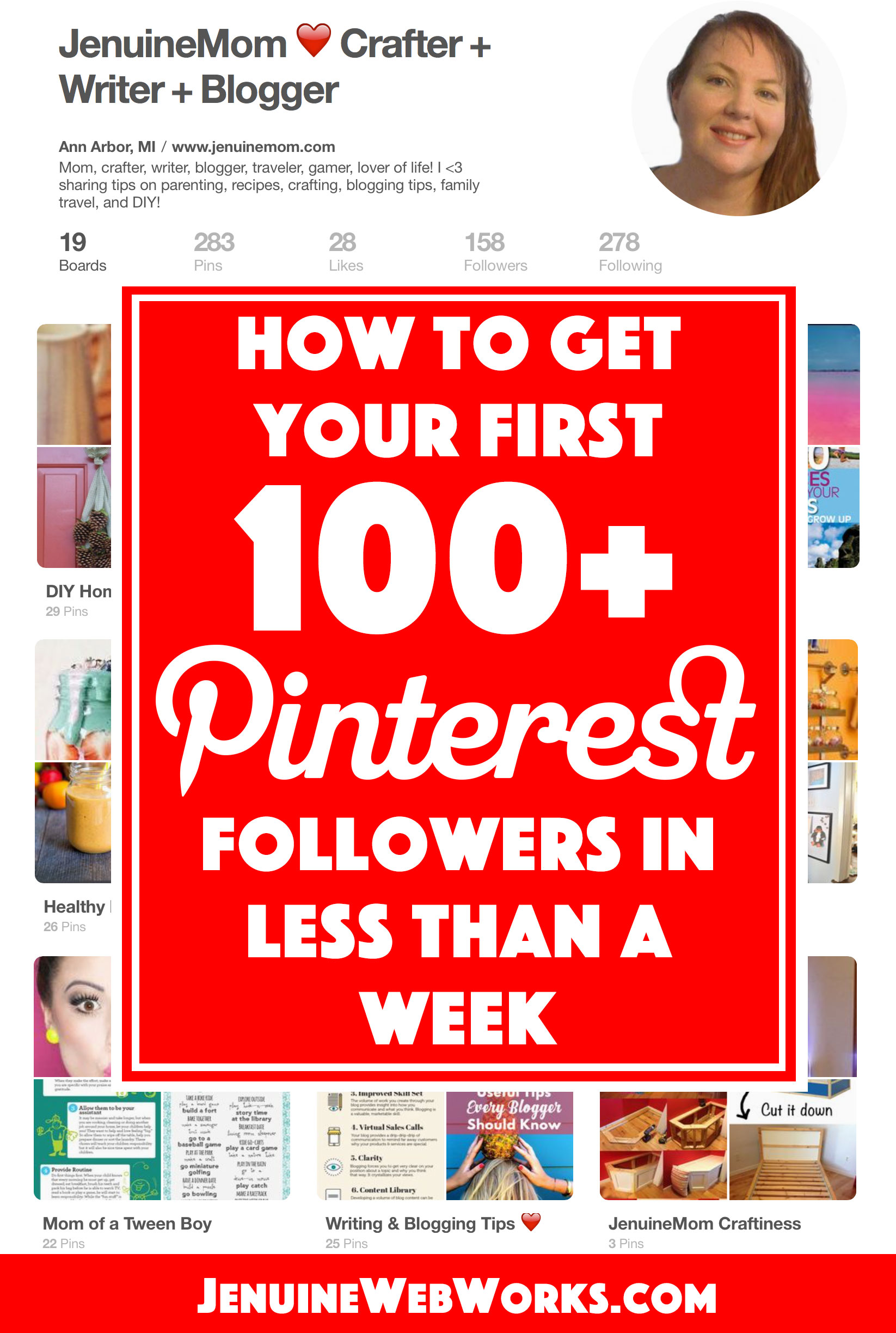 pinterest followers first 100